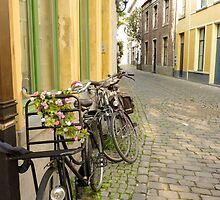 Flowering Bikes by UrsulaRodgers