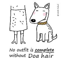 No outfit is complete without dog hair by eyecreate