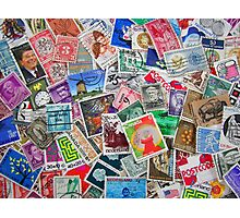Stamps From the Past Photographic Print