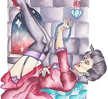 Cinderella, Evil Stepmother Pinup by Isobelle Rothery-Smith