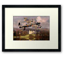 Lancaster over Scotland Framed Print