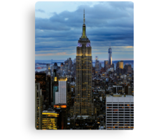 Empire State Building (Dusk) Canvas Print