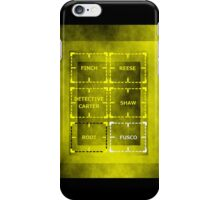 Heroes of Interest iPhone Case/Skin