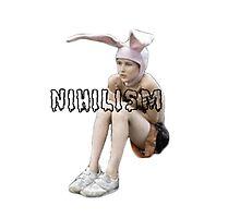GUMMO BUNNY BOY NIHILISM SHIRT by kurrdt