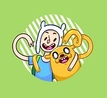 Finn & Jake by nowaitwhat