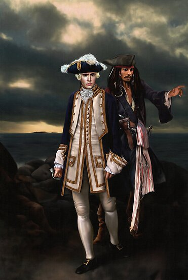 Norrington and Sparrow by Gorgidas