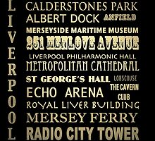 Liverpool Famous Landmarks by Patricia Lintner