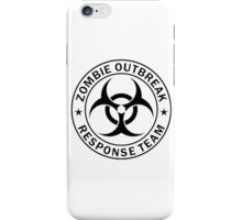 Zombie Response Team iPhone Case/Skin