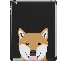 Indiana - Shiba Inu gift design for dog lovers and dog people iPad Case/Skin