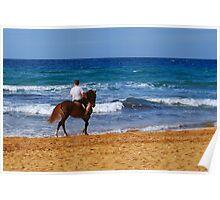 Beach Ride Poster
