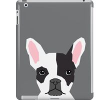 Parker - French Bulldog animal art modern colors for dog people iPad Case/Skin
