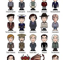 A Field Guide to the Common Cumberbatch (postcard) by redscharlach