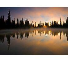 Burning Dawn Photographic Print