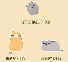 Soft Kitty illustrated Song by mybabybat