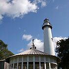 Lighthouse and Gazebo by dbvirago