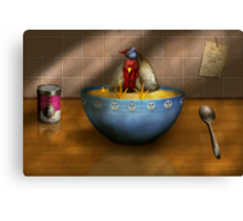 Animal - Chicken - Chicken Soup Canvas Print