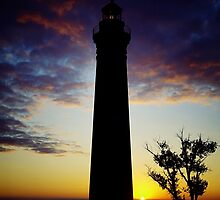 Little Sable Lighthouse- Silver Lake, MIchigan by Kathy Russell