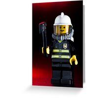 Fireman Sam Character Greeting Card