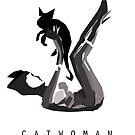 Catwoman Minimalist Poster by hispurplegloves