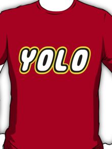 YOLO by Customize My Minifig T-Shirt