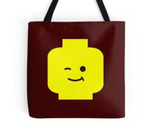 Minifig Winking Head  Tote Bag