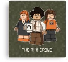 The Mini Crowd Canvas Print