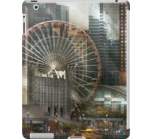 City - Chicago, IL - Pier Pressure iPad Case/Skin