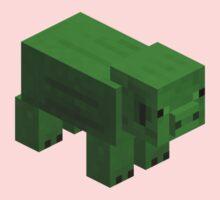 GREEN PIG  Kids Clothes