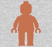 Minifig [Orange]  Kids Clothes