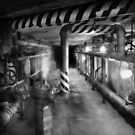 Steampunk - The steam tunnel by Mike  Savad