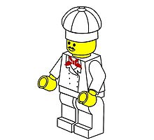 Chef Minifigure by Customize My Minifig by Chillee