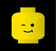 Minifigure Head by Customize My Minifig by Chillee