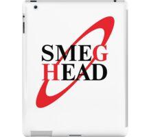 Smeg Head Black iPad Case/Skin