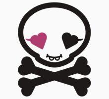 Mikoto Skull Black&Pink by mikoto