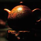 old man teapot by Tom  Cockrem