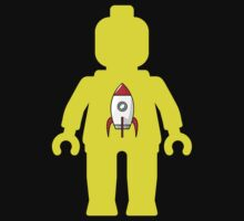 Minifig with Rocket Ship  Kids Clothes