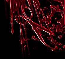Bloody Scissors by quin10