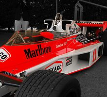 James Hunts F1  by Richard Utin