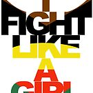 I Fight Like A Girl - HG by minorbubbles