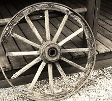 Wagon Wheel by Chasity Edmonson-Hobbs