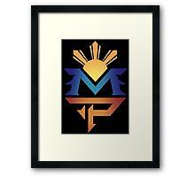 manny pacquiao Pac Man Sun Framed Print