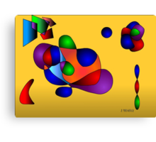 Study in Gradients Canvas Print