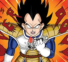 Dragon Ball. Vegeta. It's Over 9000! by Chris-Kobra-LA