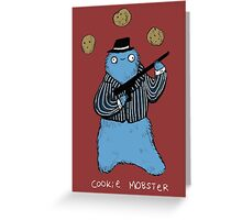 Cookie Mobster Greeting Card