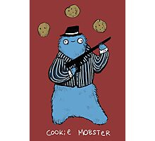 Cookie Mobster Photographic Print
