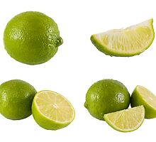 fresh limes by travis manley