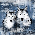 Arctic Wolves by TinaGraphics