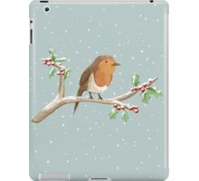 Robin on Branch iPad Case/Skin