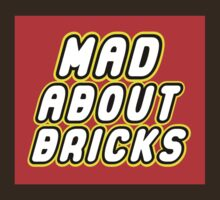 MAD ABOUT BRICKS, by Customize My Minifig by ChilleeW