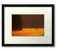Catch and Release Bass Fishing Framed Print
